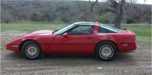86 Corvette Clean and Maintained