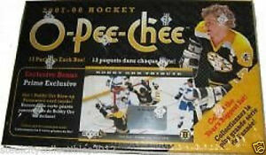 "BLASTER ... 2007-08 OPC ""BOBBY ORR"" ... 13 packs + ORR PANORAMIC"