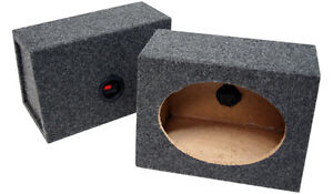 6x9 Speaker boxes - 2 Sets - perfect for car audio