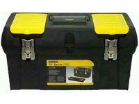"""Stanley Tool Box 19"""" - Excellent Condition - £10"""