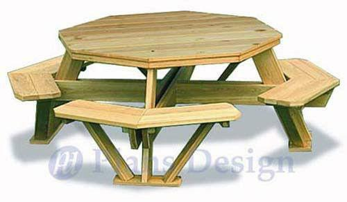 Picnic Table Plans Ebay
