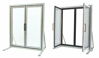 Glass Display Doors 3-pane For Walk-in Freezer Made In Usa