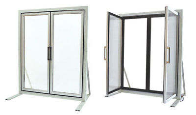 Glass Display Doors For Walk-in Cooler Made In Usa