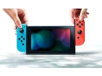 **BRAND NEW**Nintendo Switch - Neon Red / Blue - MINT 32 GB