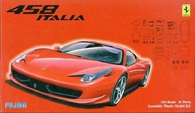 Fujimi 12382 Rs-81 124 Scale Model Sports Car Kit Ferrari 458 Italia