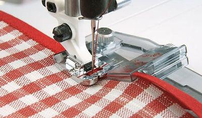 Adjustable Bias Binder Foot Viking Husqvarna Sewing Machine 4129850-45 For 1-7**