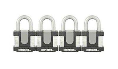 Brinks 672-50401 Commercial Laminated Steel Padlock