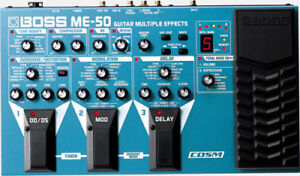 Boss ME-50 multi effect pedal
