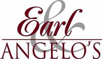 EARL AND ANGELOS HIRING! JOIN OUR FINE DINING CULINARY TEAM!