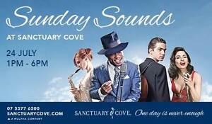 Sunday Sounds at Sanctuary Cove - Free Live Music Sunday 24 July Hope Island Gold Coast North Preview