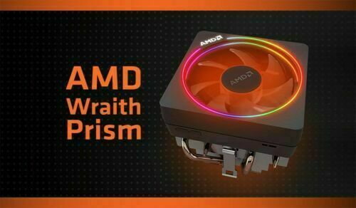Ryzen 9 3900X Wraith PRISM RGB Cooler - ONLY CPU COOLER - ORIGINAL BOX INCLUDED