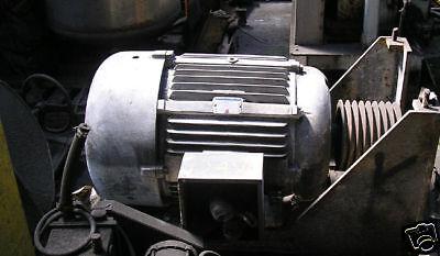 100 Hp. Electra Motor 220440 Three Phase Item 8138