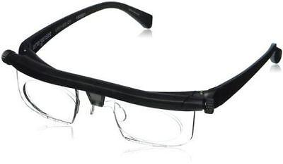 Adjustable Dial Eye Glasses Vision Reader Glasses Includes Free Case Usa Stock