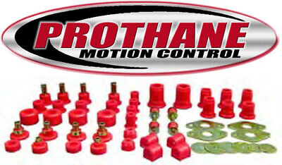 Prothane 18-2005 1989-1994 Toyota 4WD Pickup Complete Suspension Bushing Kit Red Bushing Set Toyota Pickup
