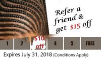 Massive Discounts!!! Cornrows and weaves only