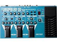 Boss ME-50 Multi Effects Board