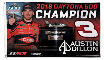 2018 DAYTONA 500 EVENT PIN LIMITED EDITION AUSTIN DILLON WIN 60th ANV SOLD OUT!