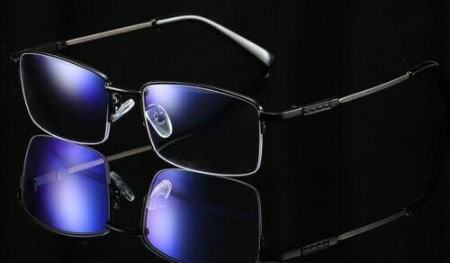 Gleitsichtbrille Blaufilter Blaulichtfilter Halbrahmen Metall 1.02.5