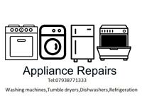 Appliance Engineer Repairs Plymouth