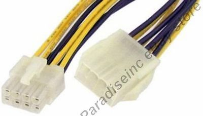 Силовые кабели 1ft LONG EPS12V 8pin
