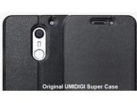 UMI SUPER original flip case, with Wake/Sleep function. boxed NEW .
