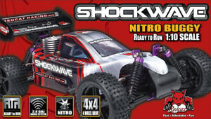 REDCAT Shockwave 4WD Nitro RC Buggy ** BRAND NEW**