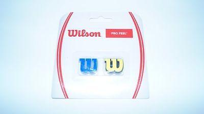 *NEU*2xWILSON PRO FEEL Vibration Dampener Dämpfer blau gelb absorber Shock 2er