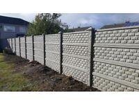 Fence fencing panels,gravel boards,heavy duty concrete post,garden furniture