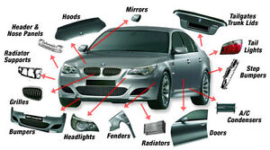 NEW USED AUTO BODY PARTS PART OUT + INSTALLATION + PAINT 50-80%