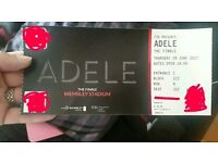 Adele 29th June Wembley. I am the named lead attendee & I am also attending, so entry guaranteed!