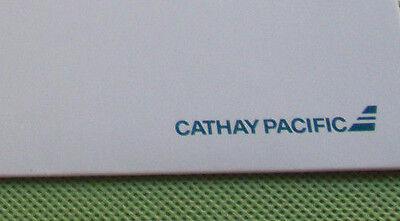 RARE Cathay Pacific Stationary Folder Old Logo