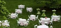 Fab Hospitality Rental - Chairs,Tables,Linen, Lights.....
