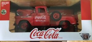 2018 M2 COCA COLA 1958 CHEV APACHE STEPSIDE CHASE  only 500 made