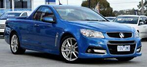 2014 Holden Ute VF MY14 SS V Ute Redline Blue 6 Speed Manual Utility Ferntree Gully Knox Area Preview