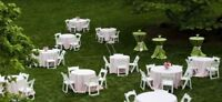 Party & Event Rental- Chairs,Tables,Linen, chafers & many more