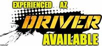 AZ DRIVER SEEKING JOB - VERY EXPERIENCED!