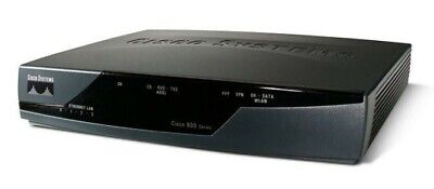 Cisco Model 871W 4-Port 10//100 Integrated Services Wired Router 4-Port Ethernet