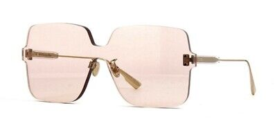 Christian Dior Color Quake 1 FWM VC Nude Gold Brown Women Sunglasses (Christian Dior Sunglass)