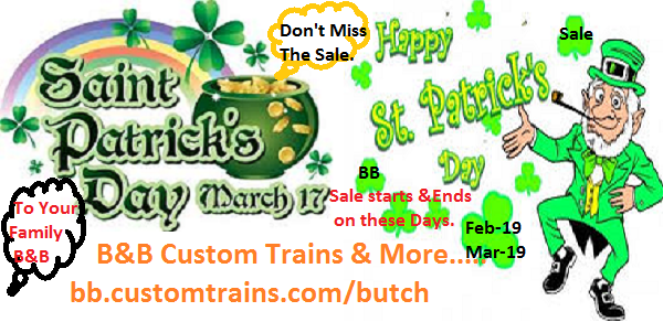 Butch Bieber Custom Trains and More