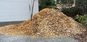Wood chipping service