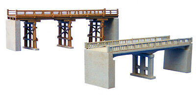 "Tomytec (Komono 044) Bridge D ""Wooden and Concrete Bridge"" 1/150 N scale"