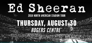 Ed Sheeran Tour 2018 - Aug 30