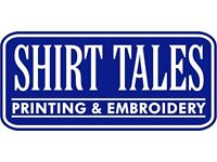 SCREEN PRINTING APPRENTICE WANTED
