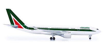 HERPA 517713-001 AEREO di linea AIRBUS A330-200 compagnia ALITALIA scala 1:500
