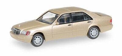 Herpa 038775 Mercedes-Benz S-Klasse V12 (W140), champagner metallic, 1:87