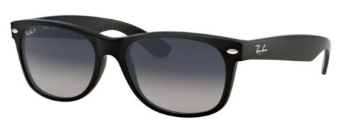 Ray Ban Wayfarer Sunglasses Black/Grey Gradient Polarized RB2132 6406M3 55mm