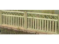 Wooden Fencing Panels