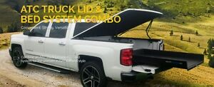 Tonneau cover and bed slider combo