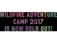 Wildfire Adventure Camp....Half activites, half festival! ..Winner best new festival award...