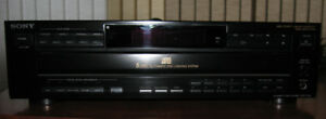 Sony CDP-C525 5 Disc Carousel CD Player